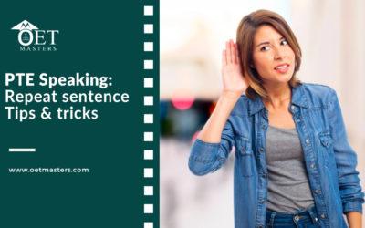 PTE Speaking: Repeat sentence | FREE Tips & tricks