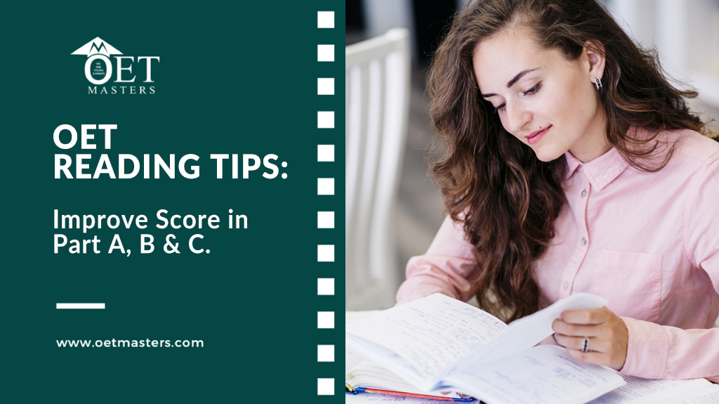OET Reading Tips: Part A & Part B OET Reading Skills