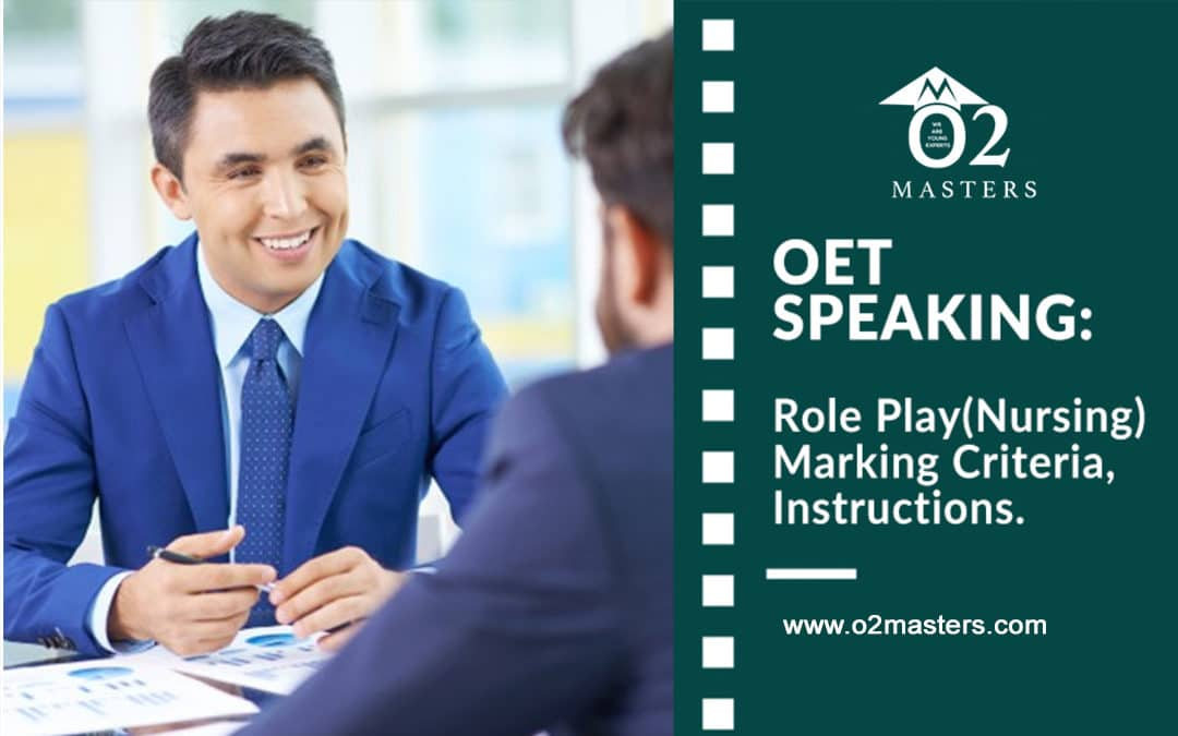 OET Speaking: Role Play(Nursing) OET Speaking Marking Criteria