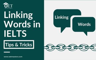 Importance of Linking words in IELTS Speaking