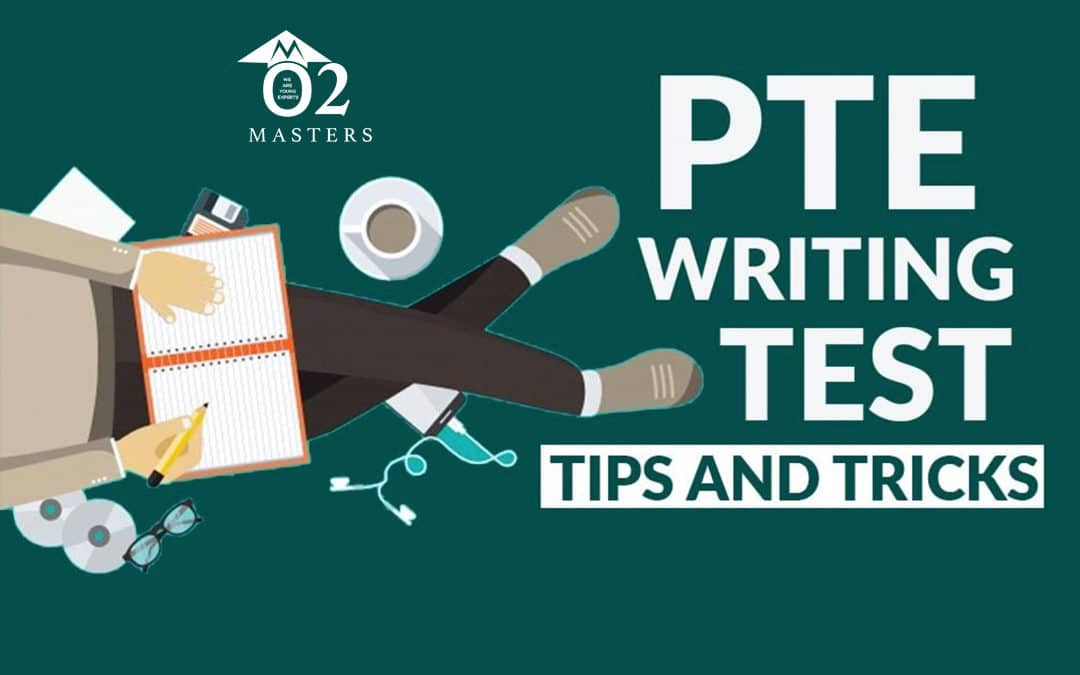 PTE writing test