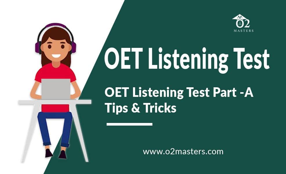 oet listening test tips