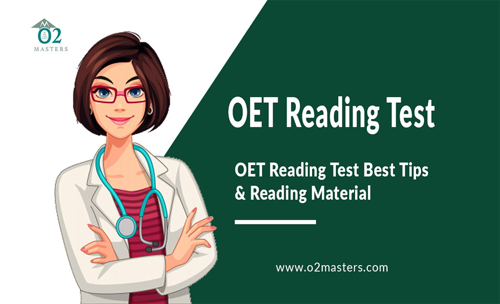 OET Reading Test Tips & Reading Material